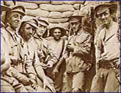 Waiting for the Attack in Anzac Trench